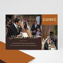 Danksagungskarten Hochzeit  - Geburtstagseinladung - 1