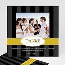 Danksagungskarten Hochzeit  - Geburtstageinladung bande - 1