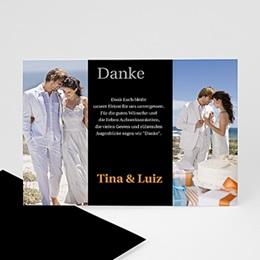 Danksagungskarten Hochzeit  - Dankeskarte Venedig - 1