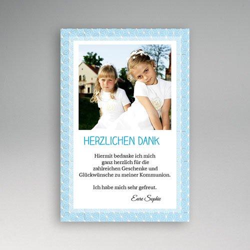 Dankeskarten Kommunion Mädchen - Das Leben 1144