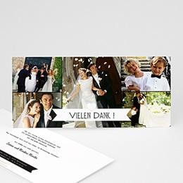 Danksagungskarten Hochzeit  - Venedig, Gondel und Liebe - 1