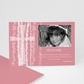 Einladungskarte pink - 1