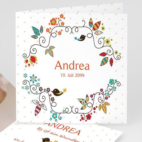 Geburtskarten für Mädchen - Esprit Bohème 13066