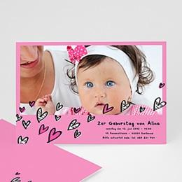 Geburtstagseinladungen Mädchen - Geburstagseinladung fur Kindergeburstag - 1