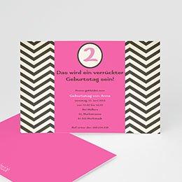 Geburtstagseinladungen Mädchen - Geburstageinladung Kindergeburstag - 1