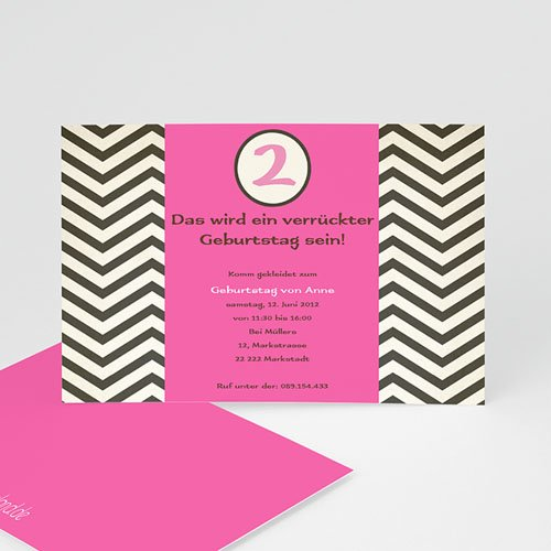 Geburtstagseinladungen Mädchen - Geburstageinladung Kindergeburstag  1328