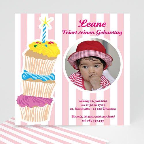 Geburtstagseinladungen Mädchen - Kindergeburtstagseinladung Leane 1368