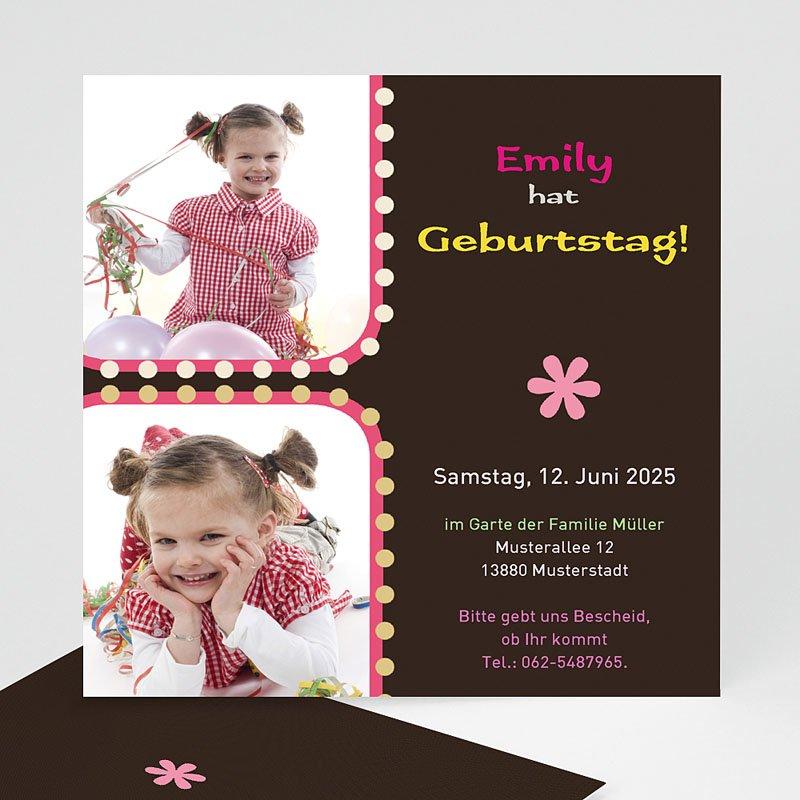 Geburtstagseinladungen Mädchen - Endlich Geburtstag!   Carteland.de