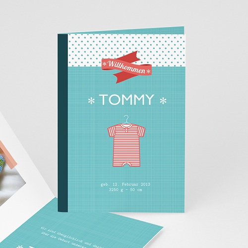 Babykarten für Jungen - Babybody Tom 14207