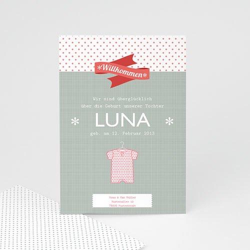 Geburtskarten für Mädchen - Louna 14225