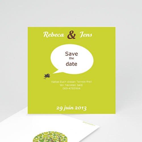 Hochzeitseinladungen modern - Schaukel  14756