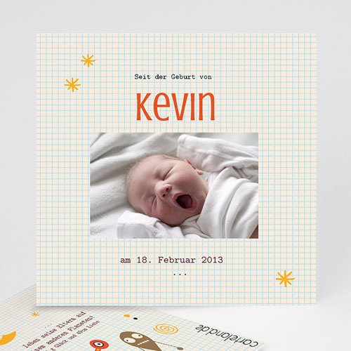 Babykarten für Jungen - Kevin 14845