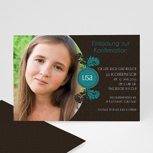 Einladungskarten Konfirmation - Einladungskarte Elias 15430