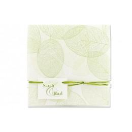Archivieren - Einladung grün/weiß Japanischer Style JW-18 - 1