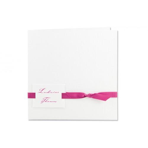 Archivieren - Einladung Kroko-Stil weiß JS-206 15710