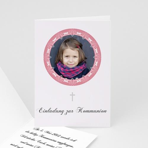 Einladungskarten Kommunion Mädchen - Eucharistiefeier 1572