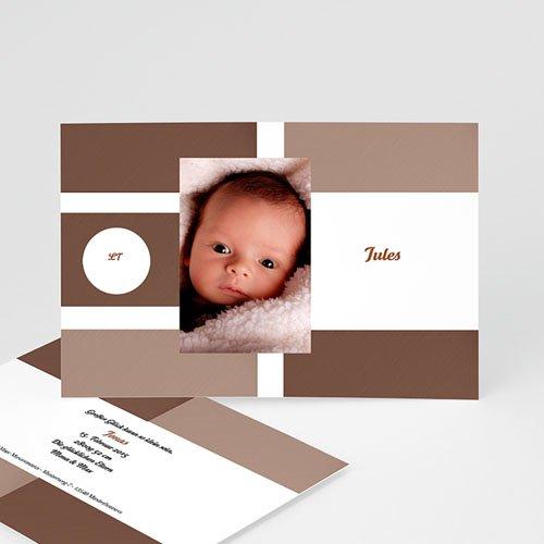 Babykarten für Jungen - Geburtskarte pur 16808