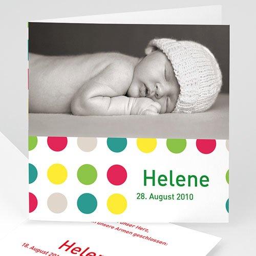 Geburtskarten für Mädchen - Geburtskarte Fynn 2 16884