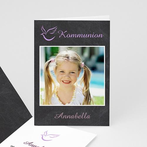 Einladungskarten Kommunion Mädchen - Frieden 17035