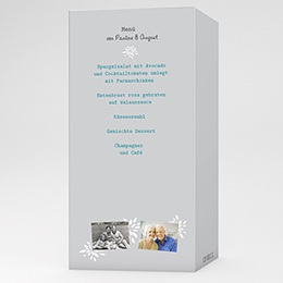 Menükarten Geburtstag - Zweisam - 1