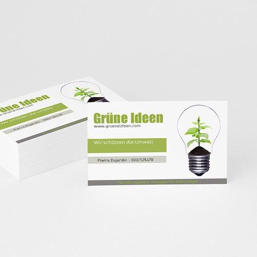 Visitenkarten - Go Green 1812