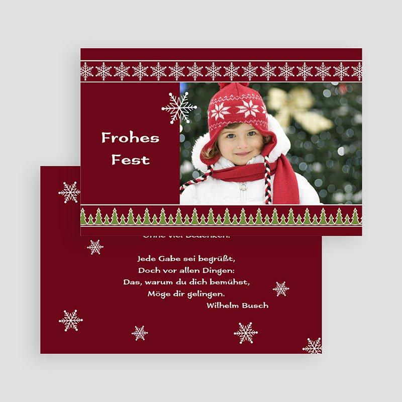Weihnachtskarten weihnachtskarte 20 for Weihnachtskarten mit spruch