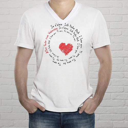 Tee-Shirt  - T-Shirt Liebeserklärung 2040