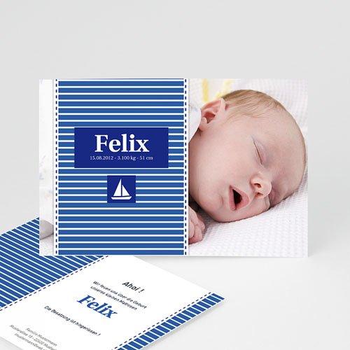 Babykarten für Jungen - Schiff 2050