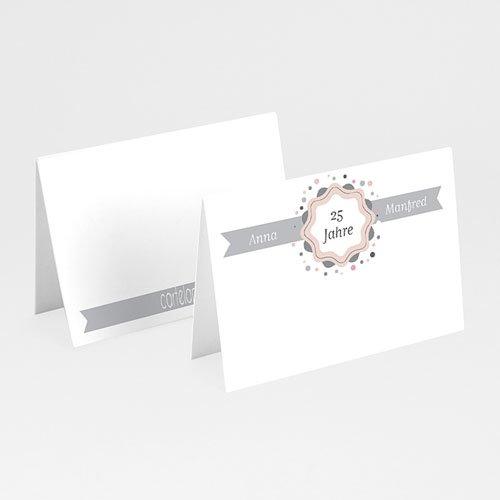 Tischkarten Geburtstag - Damals und Heute 20603