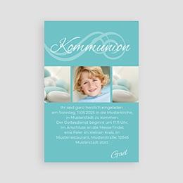 """Einladungskarten Kommunion Jungen - Kommunionskarte """"Elias"""" - 1"""