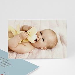 Dankeskarten Geburt Mädchen - Sonderausgabe - 1