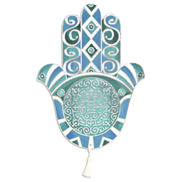 Orientalische Hochzeitskarten  - Fatma - Türkisfarben - 1