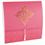 Orientalische Hochzeitskarten  - DORA - Himbeere 21624 thumb