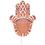 Orientalische Hochzeitskarten  - Fatma - Henna 21636 thumb