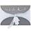 Orientalische Hochzeitskarten  - Kenza - Silber 21652 thumb