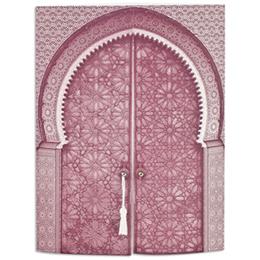 Orientalische Hochzeitskarten  - Moschee  - Purpurfarben - 1