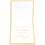 Orientalische Hochzeitskarten  - LATIFA - golden 21709 thumb