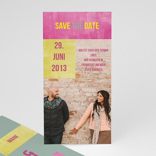 Save The Date  - Liebendes Paar 21790