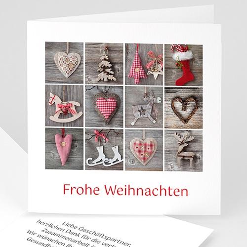 Weihnachtskarten - Patchwork 21799