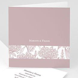 Hochzeitseinladungen modern - Ein Flair von früheren Zeiten - 1