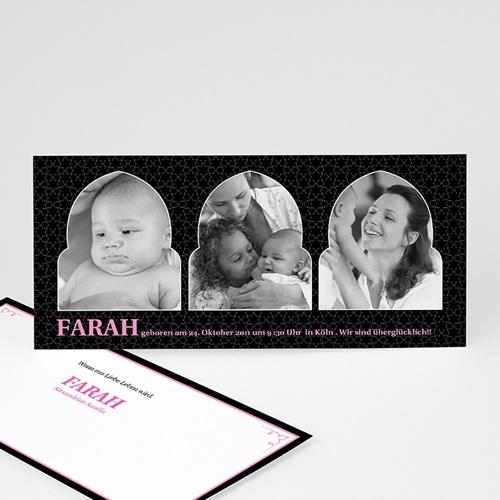Geburtskarten für Mädchen - 1001 Nacht 2222