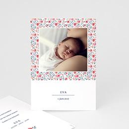 Geburtskarten für Mädchen - Geburtskarte Liberty - 1