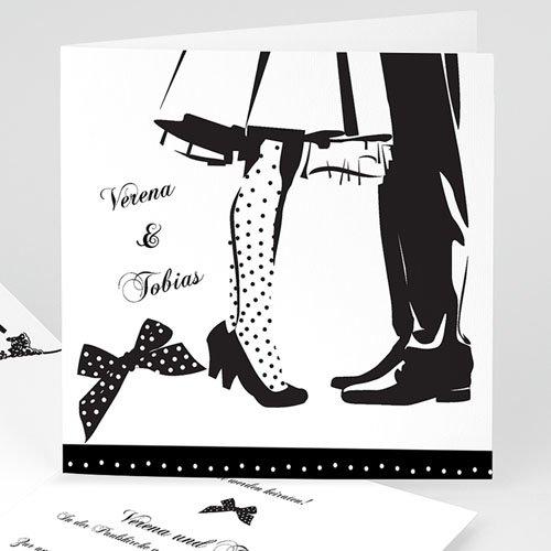 Hochzeitseinladungen modern - Zeichung 22432