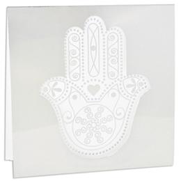 Orientalische Hochzeitskarten  - Cherifa - Khamsa - 1
