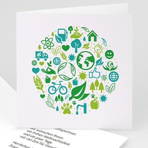 Weihnachtskarten - Umweltbewusst 22602