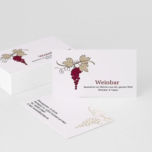 Visitenkarten - Weinliebhaber  22784