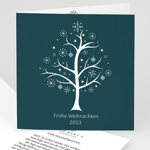 Weihnachtskarten - Sternenbaum 22820
