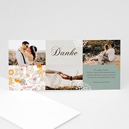 Danksagungskarten Hochzeit  - Sommerwiese - 1