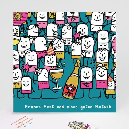 Weihnachtskarten - Champagner 22958