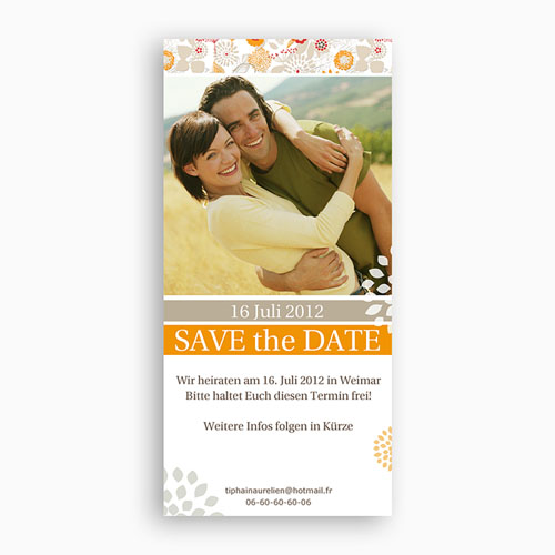 Save The Date  - Sommerwiese 2296